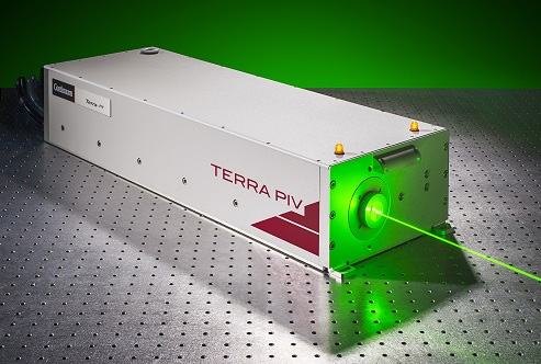 Terra-PIV: 1-10 kHz, up to 100 W, Nd:YLF