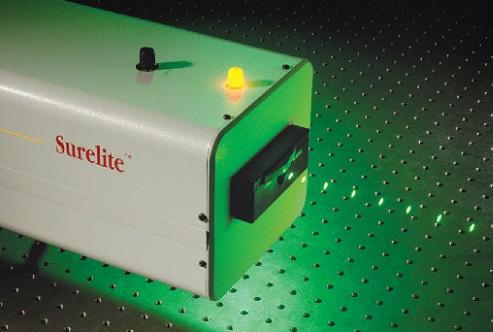 Surelite: High Performance Nd:YAG Lasers