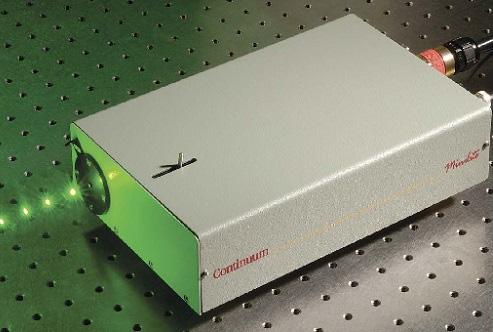 Minilite: Compact Nd:YAG lasers