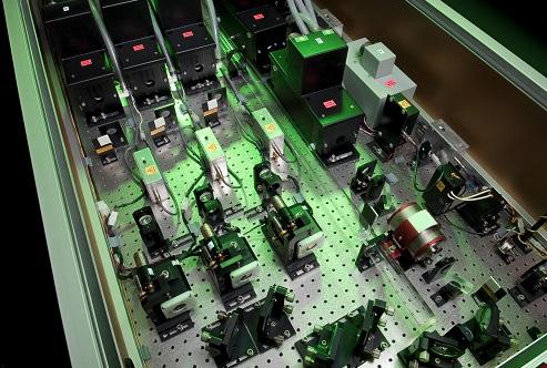 Constellation Series: the Ti:Sapphire glass pump laser
